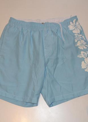 Пляжные шорты на резинке