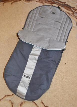 Спальный мешок, конверт, чехол на ножки в коляску maclaren