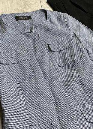 Лляний пиджак,джемпер max mara4 фото