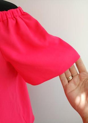 Яркая, актуальная блузка с приспущенными плечами от george.2 фото