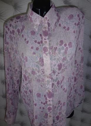 20 р-ра красивая блуза, жатка
