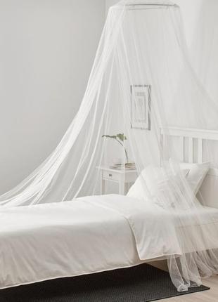 Балдахин на кровать икеа брунэ