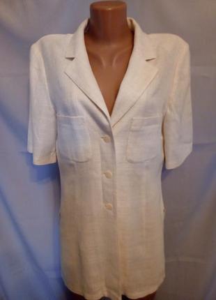 Натуральный летний жакет, блуза, кардиган  №1gb