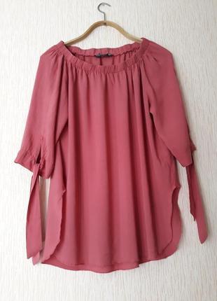 Блуза  из тонкой вискозы бренда   blind date casual