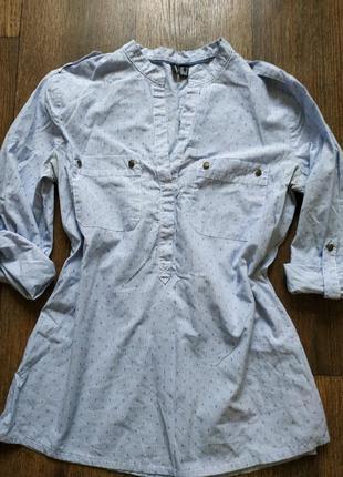 Шткарная рубашка от mango, блуза, блузка