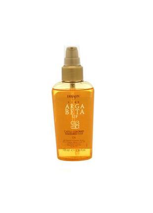 Поживне арганове масло для волосся dikson argabeta up olio capelli colorati, 100мл