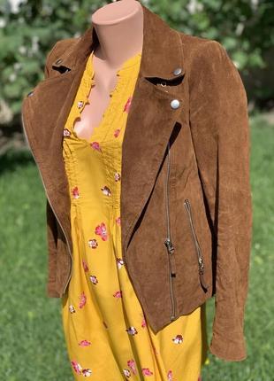 Замшевая курточка-косуха esmara размер s