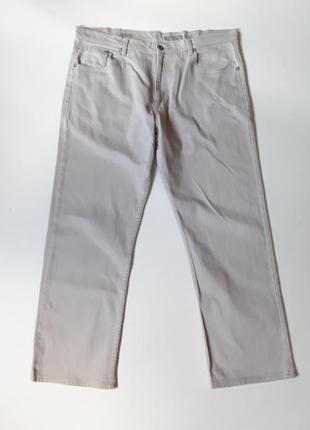 Серые летние джинсы