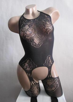 83 сексуальная боди-сетка с рисунком/ бодистокинг/ сексуальное бе лье/ эротическое белье