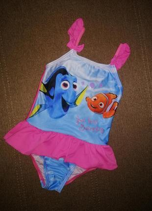 Купальник disney для девочки 2-3 года