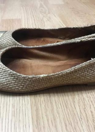 Туфли балетки испания милые и удобные