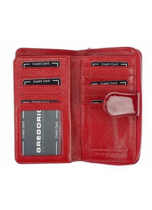 Женский кожаный кошелек gregorio pt-1165 фото