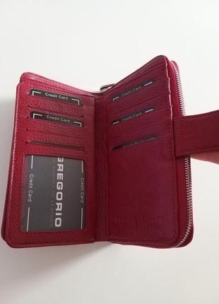 Женский кожаный кошелек gregorio pt-1169 фото