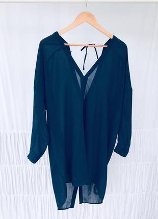 Вишукана шифонова блуза h&m