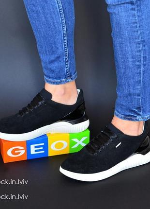 Кросівки geox, шкіра, в розмірах