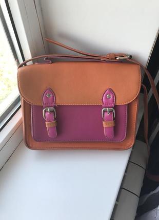 Летняя сумка с ремешком
