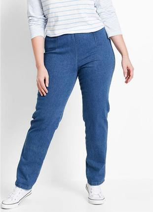 Очень большой размер. джинсы стрейч на резинке бренда bonprix, р. 58-60