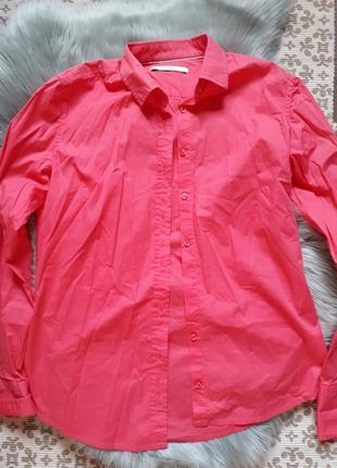 Рубашка женская кораллового цвета