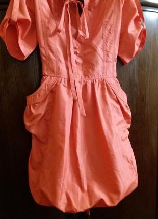 Яркое платье -бренд-qed london-12р