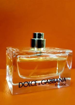 50 ml. dolce&gabbane the one. духи. харьков