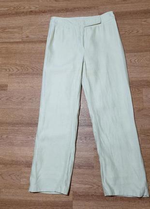 Салатовые брюки akris