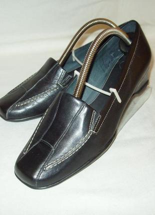 Туфли * k shoes *.  англия. kожа. р.36. 23.5 см