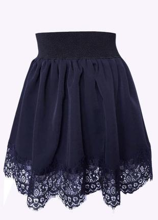 """🌼 комплект, школьная блузка и юбка """"ажур""""3 фото"""