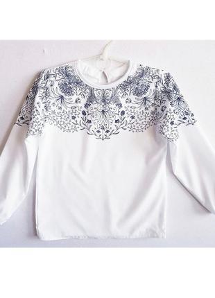 """🌼 школьная блузка и юбка """"ажур"""", комплект2 фото"""
