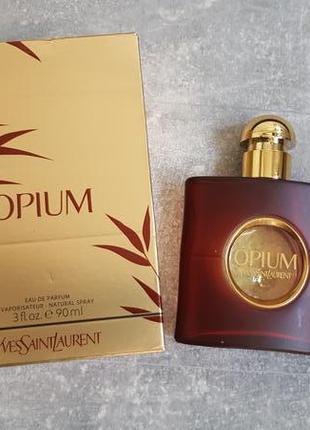 Туалетная вода, yves saint laurent opium
