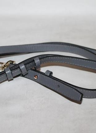 Кожаный плечевой ремень.длинная ручка на сумку