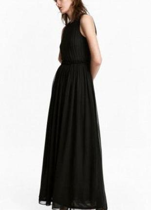 Н&м платье в пол из шыфона