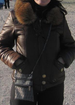 Супертепла зимова куртка