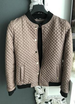 Курточка стёганая тёплая