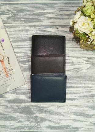 A. bellucci. vera pelle. италия. кожа. классный кошелёк, портмоне высокого качества
