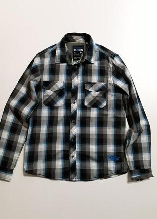 Фирменная хлопковая рубашка 14-16 лет