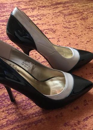 Лаковые туфли от юдашкина
