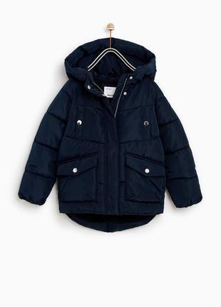 Детская куртка на синтепоне zara