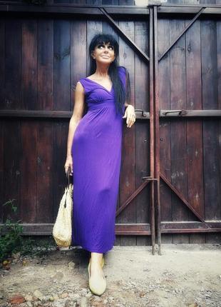 Платье сарафан длинный new look maternity для беременных трикотажное хлопок коттон