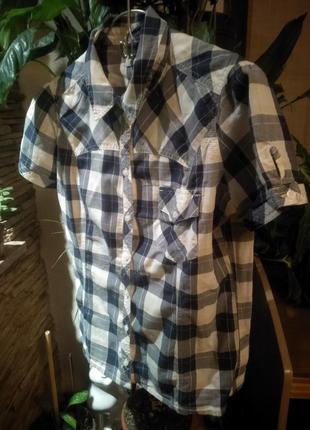 Очень крутая рубашка в клетку lee ( оригинал )