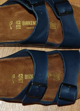 Шлёпанцы 42 р birkenstock оригинал германия хорошее состояние