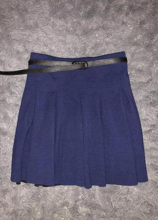 Стильная/модная юбка солнце /брендовая бренд hilfiger denim american brand