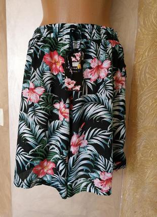 Лёгкие штапельные шортики юбка разные расцветки бесплатная доставка