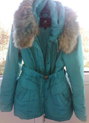 Пуховик женский куртка удлиненная