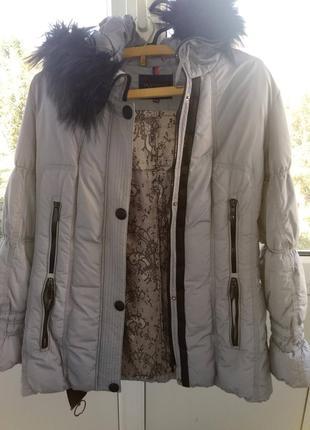 Пуховик женский куртка зимняя