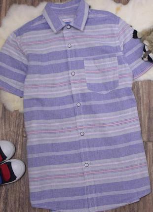 Рубашка с коротким рукавом/ рубашка в школу