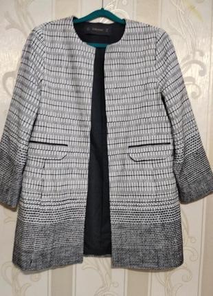 Фактурный натуральный  кардиган , пиджак , жакет