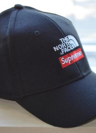 Бейсболка the north face&supreme full cap