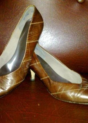 Кожаные туфли, европа, 37раз.