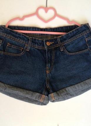 Темно сині джинсові шорти denim
