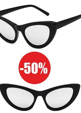 4-7 элегантные солнцезащитные очки лисички